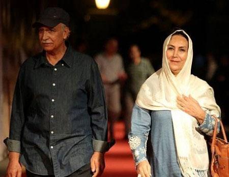 عکسهای مهوش صبرکن و شوهرش محمود پاک نیت