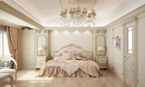 مدل دکوراسیون اتاق خواب سلطنتی