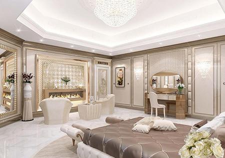 مدل دکوراسیون اتاق خواب سلطنتی مدرن ترین سرویس های خواب,اتاق خواب های مدرن