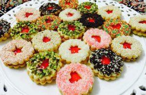 طرز تهیه شیرینی کَرهای برای دورهمیهای دوستانه