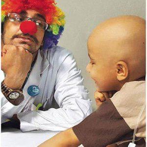 دلقک درمانی؛ معجزهای برای درمان کودکان بیمار