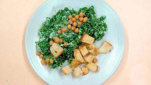 طرز تهیه سالاد سزار مخصوص گیاهخواران