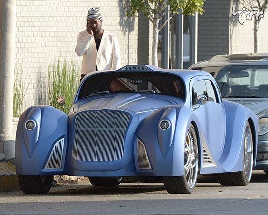 نگاهی به خودروهای عجیب و غریب و سلبریتیها