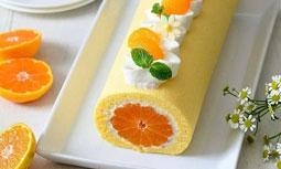رولت نارنگی؛ یک عصرانه خوش طعم پاییزی