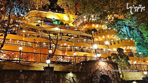 مکانهای تفریحی تهران در شب