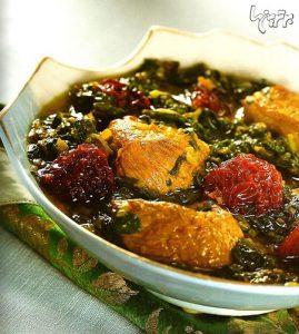 خورشت آلو اسفناج؛ خوشمزهترین غذای سنتی ایرانی