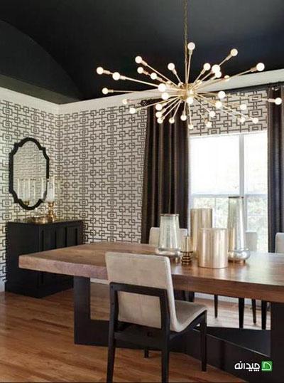 مدل دکوراسیون اتاق غذاخوری، اینطوری لوکس تر به نظر میاد!