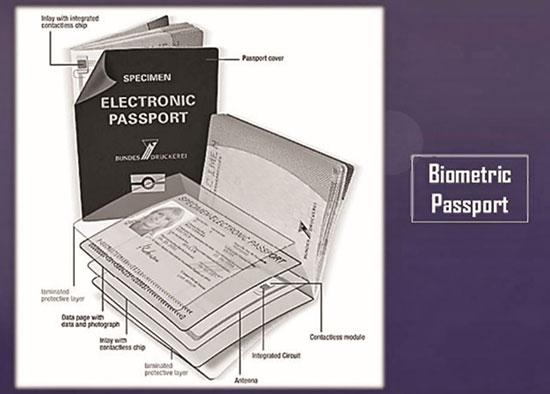 جنجال تراشه در پاسپورت